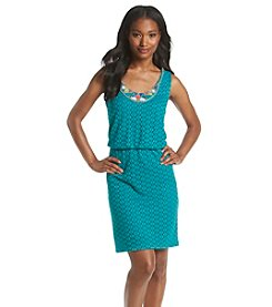 Ronni Nicole® Knit Dress With Beaded Neckline