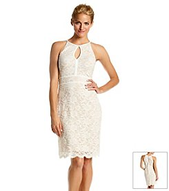 NW Collections Lace Cocktail Dress