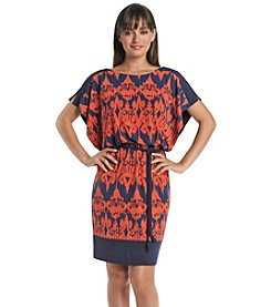 Sangria™ Patterned Scuba Dress