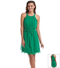 Jessica Simpson Lazer Cut Sundress
