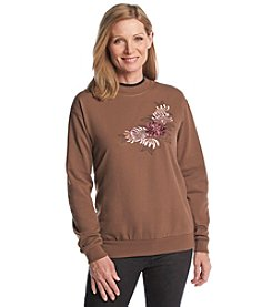 Morning Sun® Fall Mums Fleece Sweatshirt