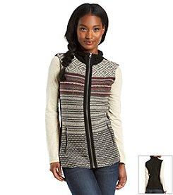 Ruff Hewn Sweater Front Sherpa Vest
