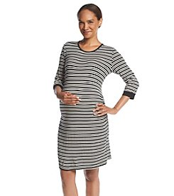 Three Seasons Maternity™ Side Ruch Dress