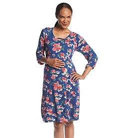 Three Seasons Maternity™ Keyhole Floral Dress