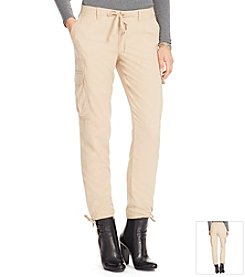 Lauren Ralph Lauren® Sueded Cargo Pants