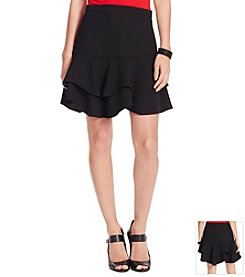Lauren Ralph Lauren® Ruffled Fit-And-Flare Skirt