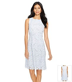 Lauren Ralph Lauren® Lace Bateau-Neck Dress