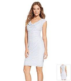 Lauren Ralph Lauren® Sequined Cowlneck Dress
