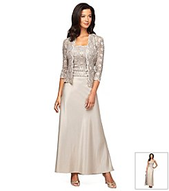 Alex Evenings® Lace Jacket Gown