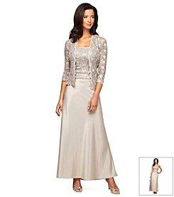 Alex Evenings® Lace Jacket Gown