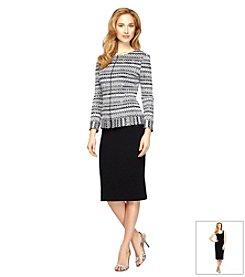 Alex Evenings® Printed Zip Jacket Dress