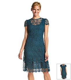 Anne Klein® Crochet Lace Dress