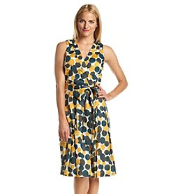 Anne Klein® Dot Wrap Dress