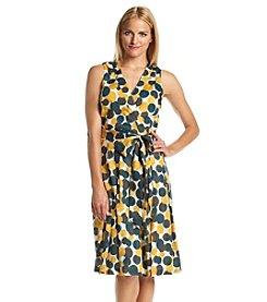 Anne Klein® Dot Wrap Dress
