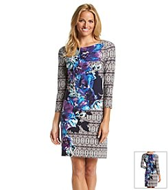 Vince Camuto® Printed Tee Dress