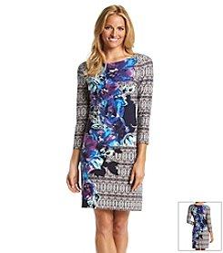 Vince Camuto® Printed Tee Dress