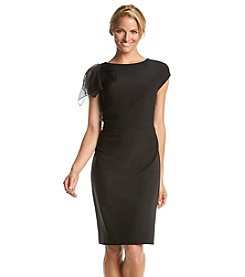 Anne Klein® Crepe Sheath Dress