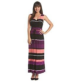 Ivanka Trump® Striped Maxi Dress