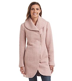 Jessica Simpson Asymmetric Shawl Collar Walker