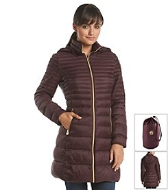 MICHAEL Michael Kors® Horizontal Seam Packable Jacket