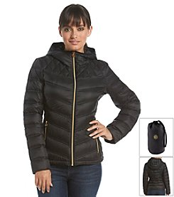 MICHAEL Michael Kors® Short Packable Diamond Jacket