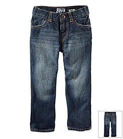 OshKosh B'Gosh® Boys' 2T-7X Straight Jeans - Faded Medium
