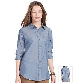 Lauren Jeans Co.® Plaid Cotton Shirt