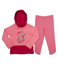 PUMA® Baby Girls' Shining Star Layered Hoodie Set