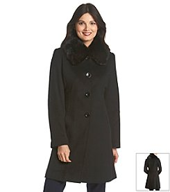 Forecaster Petites' Single-Breasted Club Collar Coat