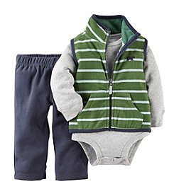 Carter's® Baby Boys' 3-Piece Vest Set