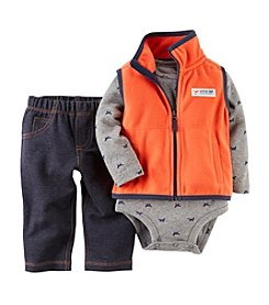 Carter's® Baby Boys' 3-Piece Vest Outfit Set