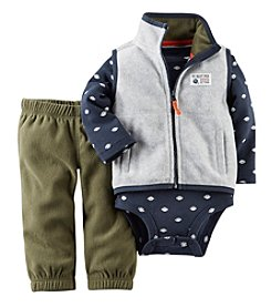 Carter's® Baby Boys' 3-24M Three-Piece Cardigan Outfit Set
