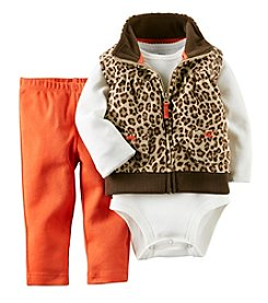 Carter's® Baby Girls' 3-24M Three-Piece Vest Set