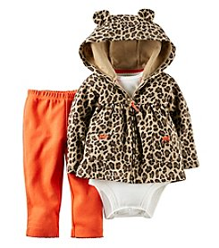 Carter's® Baby Girls' 6-24M Three-Piece Cardigan Outfit Set