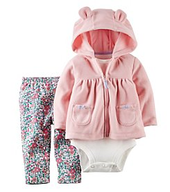 Carter's® Baby Girls' 3-24M Three-Piece Cardigan Outfit Set