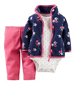 Carter's® Baby Girls' 3-Piece Cardigan Outfit Set