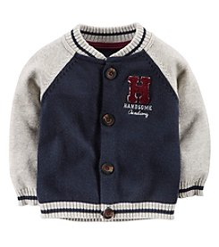 Carter's® Baby Boys' 3-24 Month Varsity Cardigan