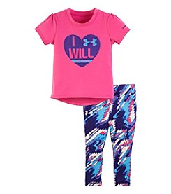Under Armour® Baby Girls' 3-24 Month Flawless I Will Set