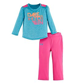 Under Armour® Baby Girls' 12-24 Month Dare To Win Set