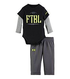 Under Armour® Baby Boys' Newborn-12M FTBL Layered Look Set