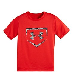Under Armour® Boys' 2T-7 Geo Stacked Block Tee