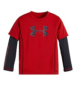 Under Armour® Boys' 2T-7 Geo Stack Slider Layered Top