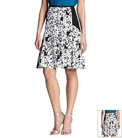 Robert Rodriguez® Print Blocked Skirt