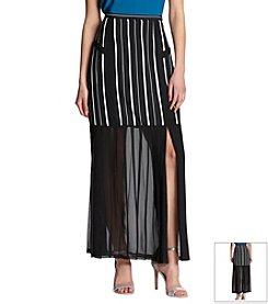 Robert Rodriguez® Pleated Ankle Skirt