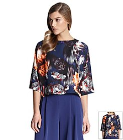 Robert Rodriguez® Floral Boxy Top