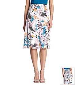 Robert Rodriguez® Pull On Print Skirt