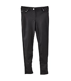 Amy Byer Girls' 7-16 5 Pocket Ponte Pants