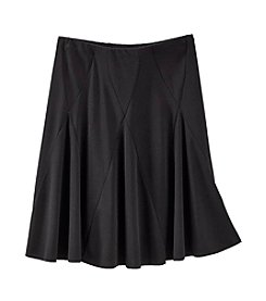 Amy Byer Girls' 7-16 Solid Core Skirt