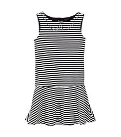 Jessica Simpson Girls' 7-16 Stefanina Striped Dress