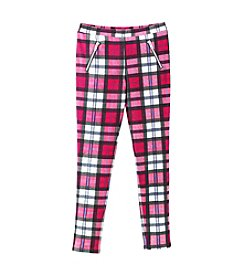 Jessica Simpson Girls' 7-16 Plaid Clara Jeggings
